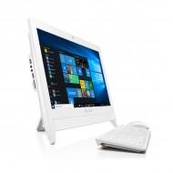 """Lenovo PC AIO C20-05-5JID/AMD E1-7010/2GB/500GB/19.5""""/Win10/White"""