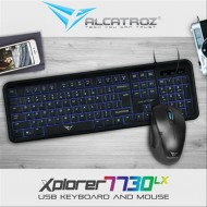 KEYBOARD ALCATROZ 7730+MOUSE